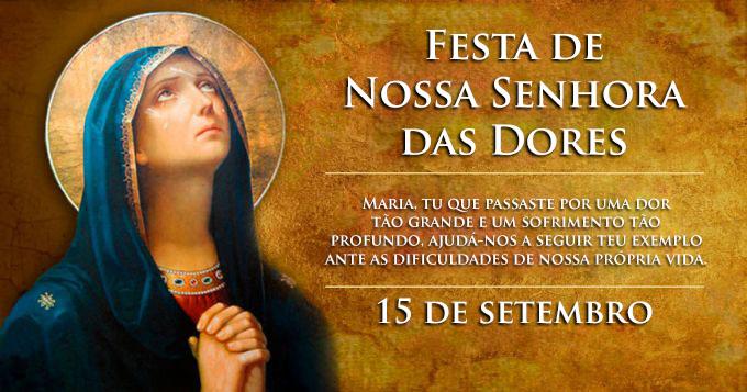 Resultado de imagem para Nossa Senhora das Dores, aponta-nos para uma Nova Vida